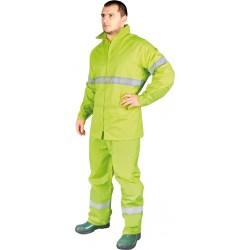 Signalinis kostiumas nuo lietaus iš PVC