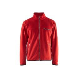 Fleece džemperis raudonas