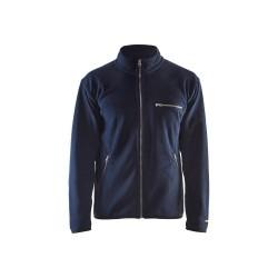 Fleece džemperis tamsiai mėlynas