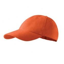Kepurė su snapeliu oranžinė