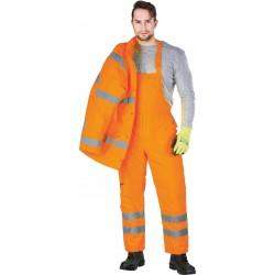 Puskombinezonis pašiltintas S-VIS oranžinis