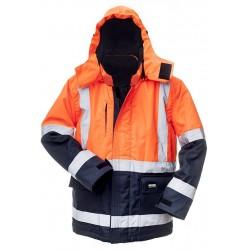 Žieminė striukė Baltic canvas HI-VIS oranžinė