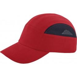 Kepurė šalmas BUMPCAPMESH raudona