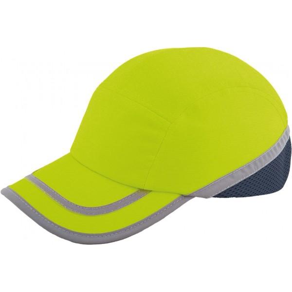 Kepurė šalmas BUMPCAPFLUO geltona
