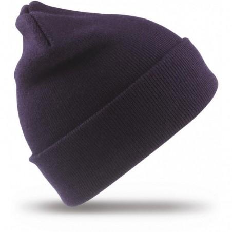Megzta žieminė kepurė mėlyna