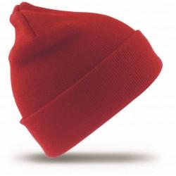 Megzta žieminė kepurė raudona