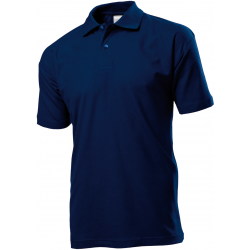 Polo marškinėliai t. mėlyni