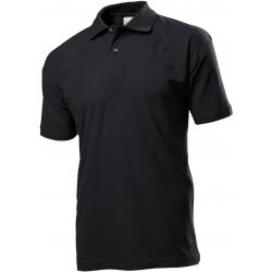 Polo marškinėliai juodi