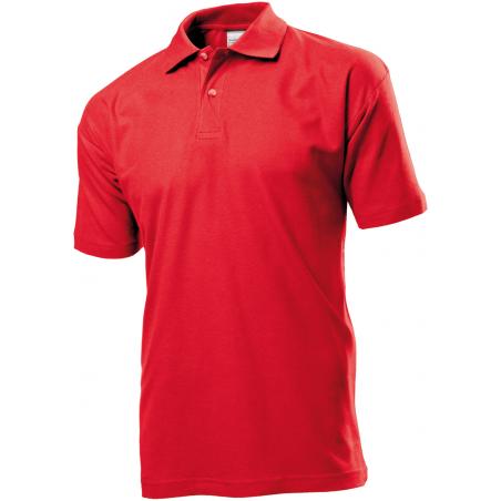 Polo marškinėliai raudoni