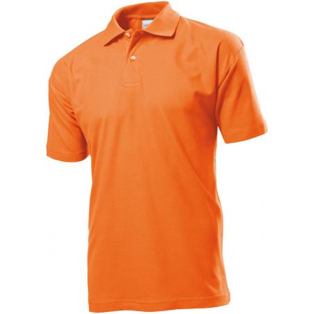 Polo marškinėliai oranžiniai