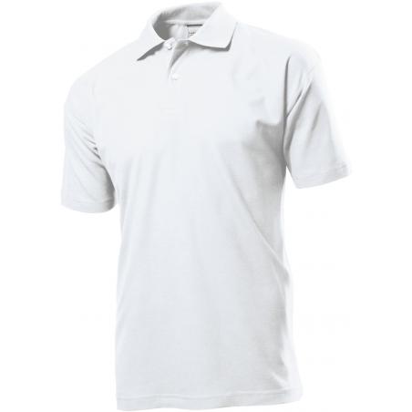 Polo marškinėliai balti