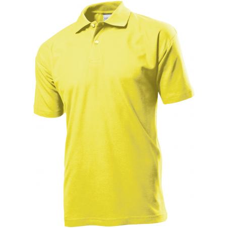 Polo marškinėliai geltoni