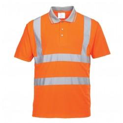Signaliniai polo marškinėliai oranžiniai