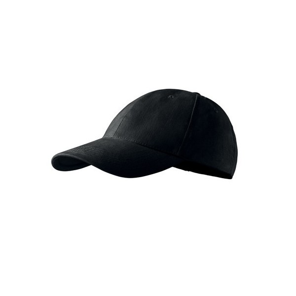 Kepurė su snapeliu juoda