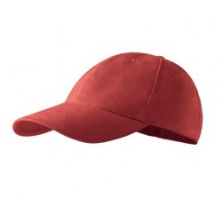 Kepurė su snapeliu raudona