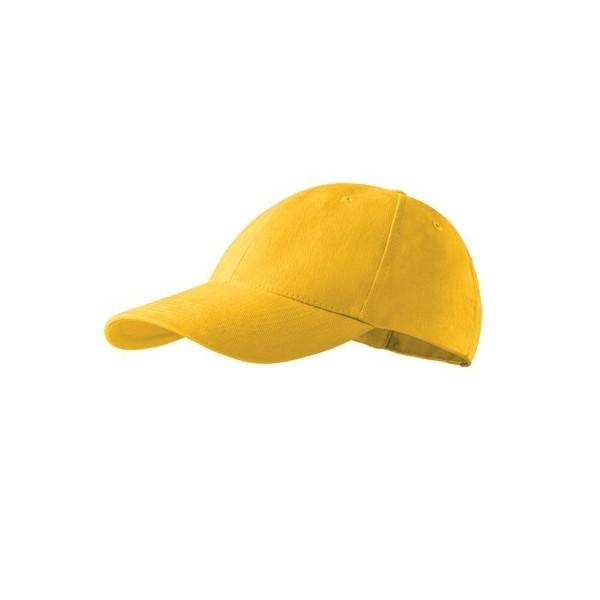 Kepurė su snapeliu geltona