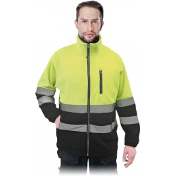 Džemperis POLSTRIP geltonas
