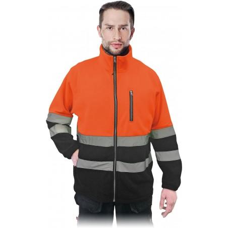 Džemperis POLSTRIP oranžinis