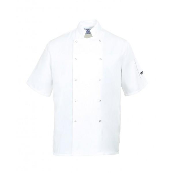 Virtuvės šefo švarkas C733 baltas