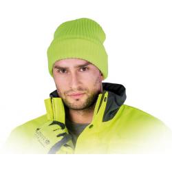 Šilta megzta kepurė Thinsulate geltona
