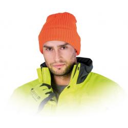 Šilta megzta kepurė Thinsulate oranžinė