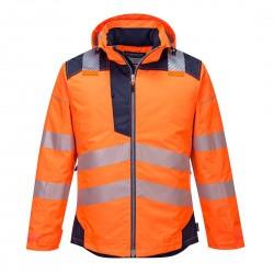 Gero matomumo žieminė striukė T400 oranžinė