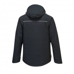 Žieminė šilta striukė DX460 juoda