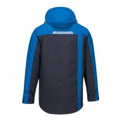 Žieminė šilta striukė T740 mėlyna