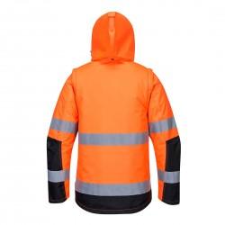 Signalinė striukė C469 oranžinė