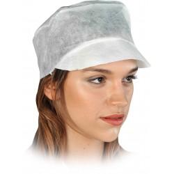 Vienkartinės kepurėlė su snapeliu trumpiems plaukams