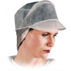 Vienkartinės kepurėlė su snapeliu ilgiems plaukams