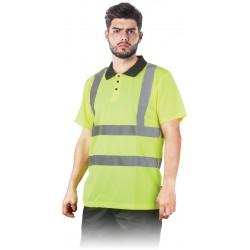 Signaliniai polo marškinėliai geltoni