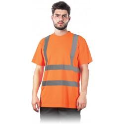 Signaliniai marškinėliai oranžiniai