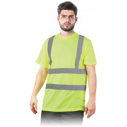 Signaliniai marškinėliai geltoni
