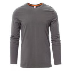 Marškinėliai ilgomis rankovėmis pilki