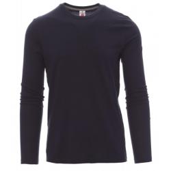 Marškinėliai ilgomis rankovėmis tamsiai mėlyni