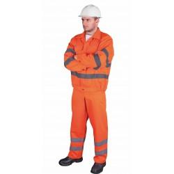 Darbo kostiumas UL oranžinis
