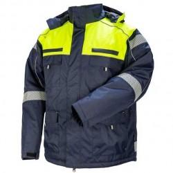 Žieminė darbinė striukė STRONGO mėlyna/geltona